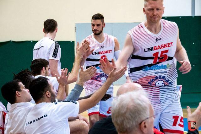 L'Unibasket Lanciano cede 81 a 62 a Vasto
