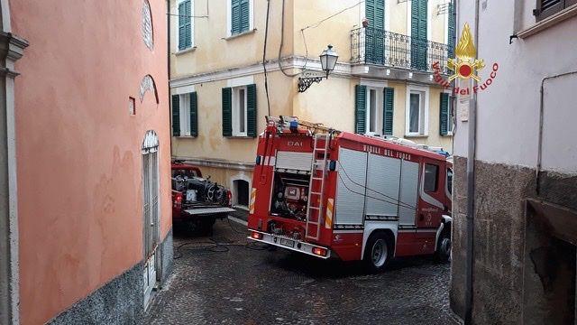 Penne, incendio in un appartamento: morta una donna