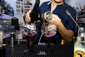 AlKLIDÈ Gintoneria Vineria Cocktails puoi gustare il tuo GIN in totale SICUREZZA