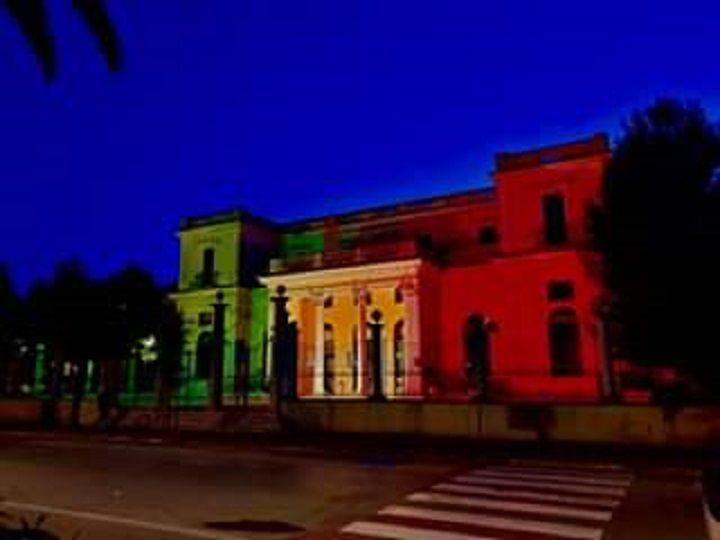 Giulianova, Kursaal tricolore per il 159° anniversario dell'Unità d'Italia