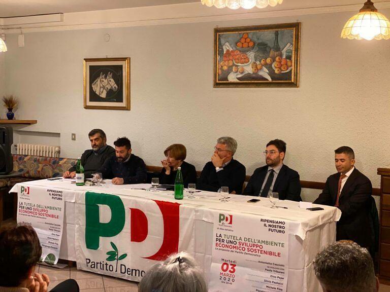 Alba Adriatica, lavoro e sviluppo sostenibile: l'assemblea del Pd