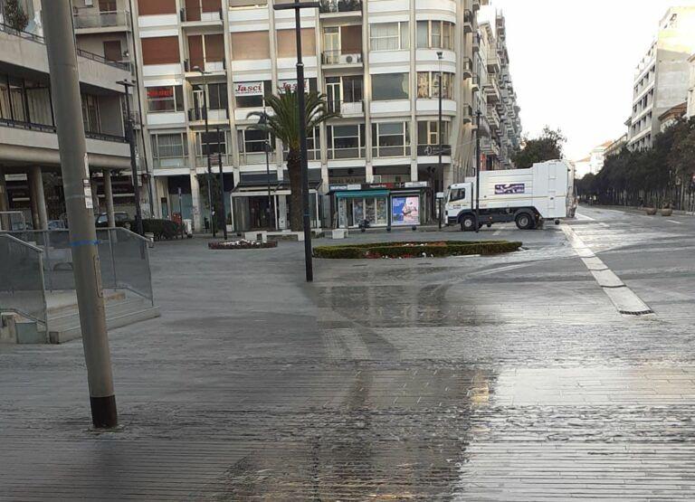 Coronavirus, Pescara: partita dal centro la pulizia straordinaria delle strade