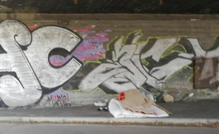 """Pescara: """"Aumentano i senzatetto sotto la ferrovia"""""""