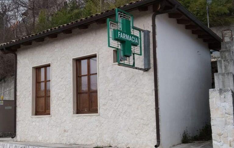 Abbateggio, torna la farmacia nel centro storico