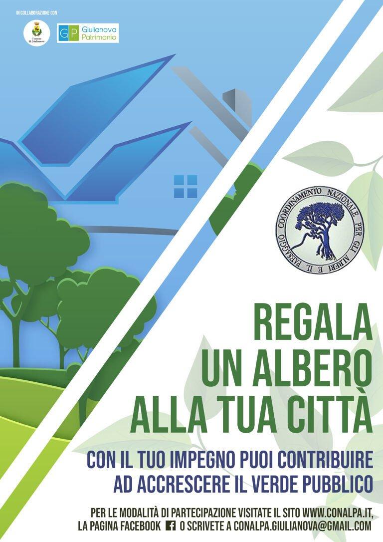 Giulianova, 'regala un albero alla tua città': l'inizativa del CoNalPa