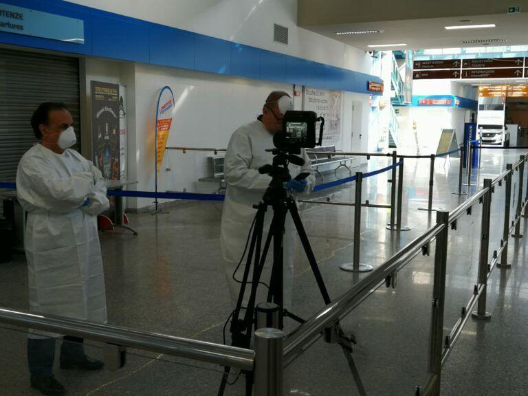 Pescara, 500mila euro all'Aeroporto d'Abruzzo per l'emergenza Covid