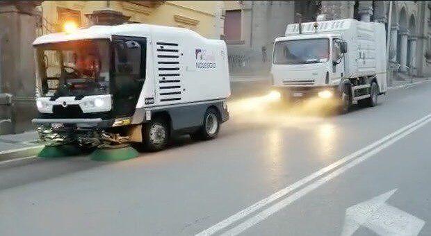 Coronavirus, Spoltore: parte la sanificazione delle strade