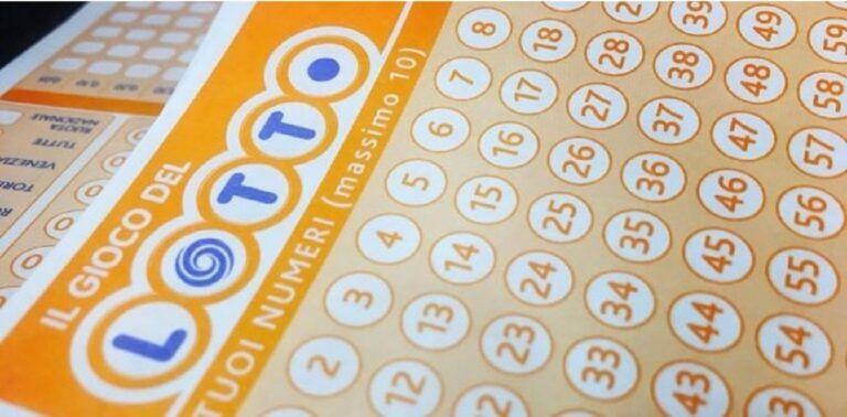 Lotto, colpo ad Atessa da 1,2 milioni: è la vincita più alta del 2021
