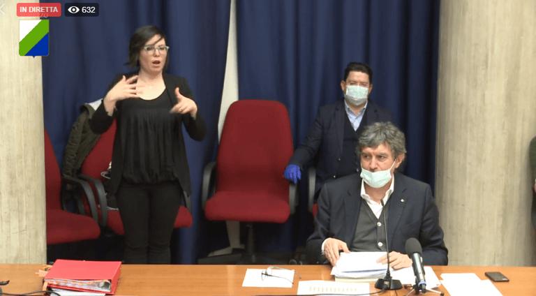 Coronavirus Abruzzo, zona rossa estesa all'area Vestina: LA VIDEOCONFERENZA