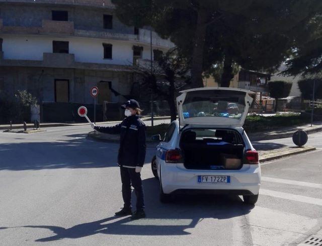 San Salvo, Covid 19: i controlli della Polizia Locale