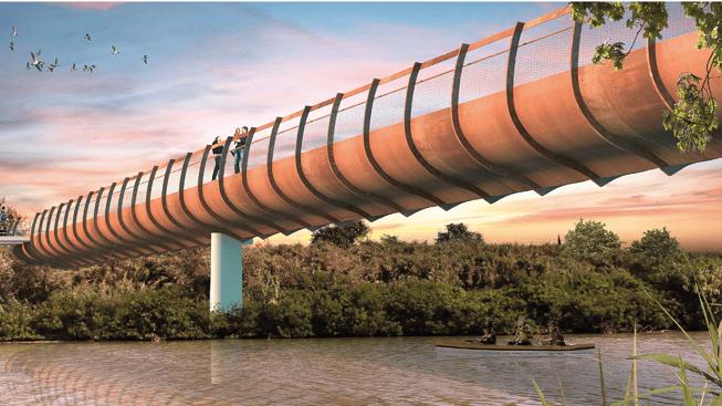 Martinsicuro, ponte ciclabile sul Tronto: definito il programma. Opera entro il 2023