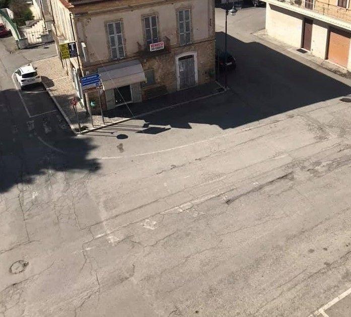 Sant'Omero, nuovo manto di asfalto in via Roma
