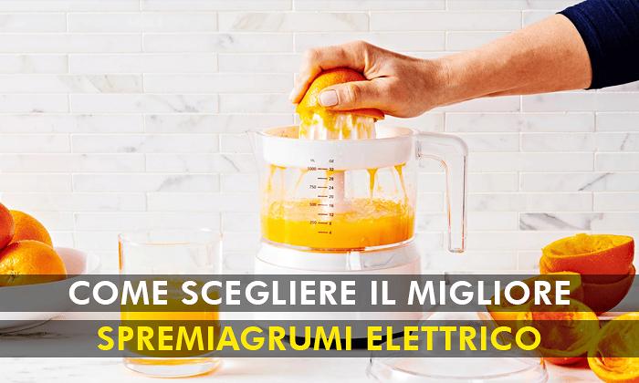 spremiagrumi elettrico