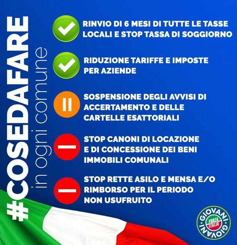 Coronavirus, le proposte di Forza Italia Giovani Teramo per l'emergenza sanitaria