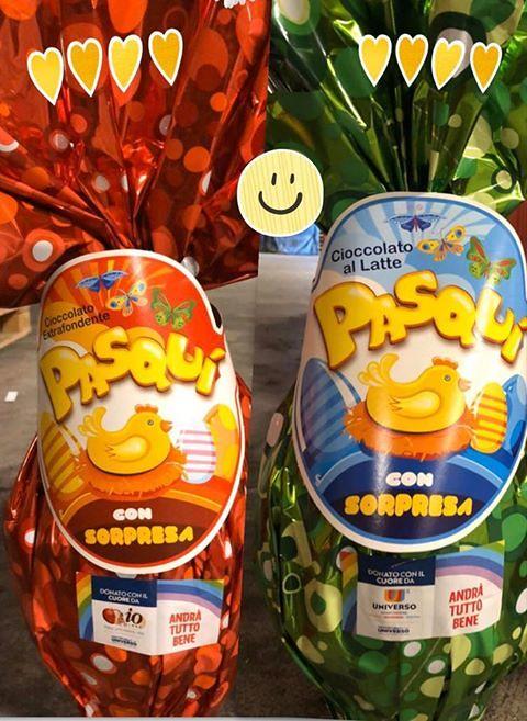 Silvi, Pasqua in tempo di crisi: a donare un sorriso saranno 90 uova di cioccolato