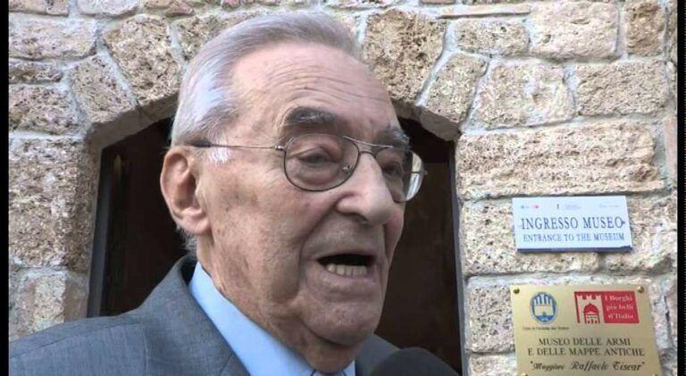 Civitella del Tronto, è scomparso il cittadino onorario Piergiorgio Tiscar
