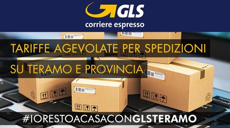 GLS Corriere Espresso: Tariffe agevolate per spedizioni su Teramo e Provincia