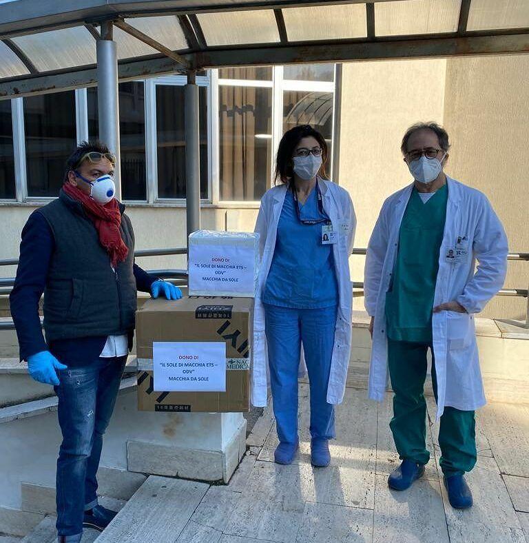 Coronavirus, Teramo: 500 mascherine all'ospedale Mazzini