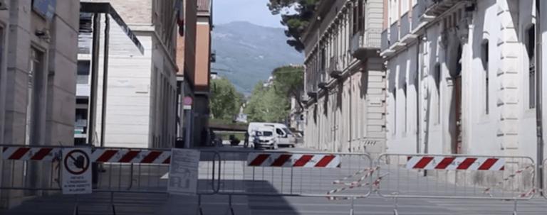 Teramo, pavimentazione già da rifare: chiude Corso San Giorgio