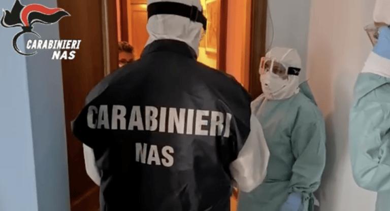 Controlli del Nas di Pescara nelle case di riposo: 40 positivi in una struttura