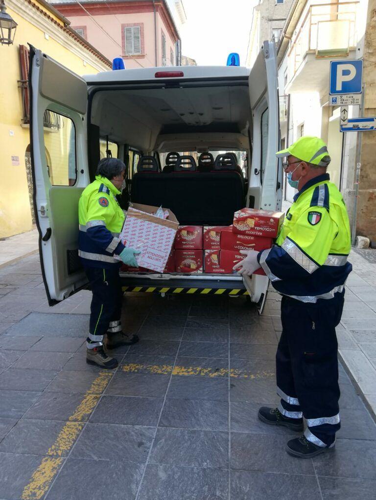 Coronavirus, iniziata la distribuzione della 'Spesa Sospesa' alla famiglie di Giulianova in difficoltà