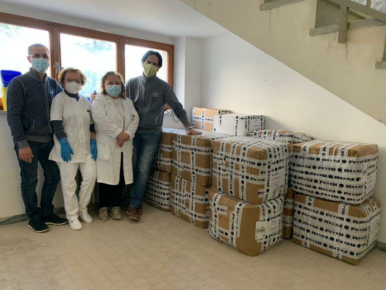 'Help Atessa', 1.500 dpi agli operatori dell'Ospedale grazie alla raccolta fondi promossa da Serena Tucci e Silvia Sciorilli Borrelli
