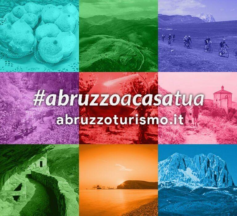 #abruzzoacasatua: su instagram alla scoperta dell'offerta turistica