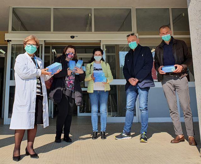 L'Amministrazione Comunale di Rapino dona 400 mascherine agli infermieri e ai medici del SS Immacolata