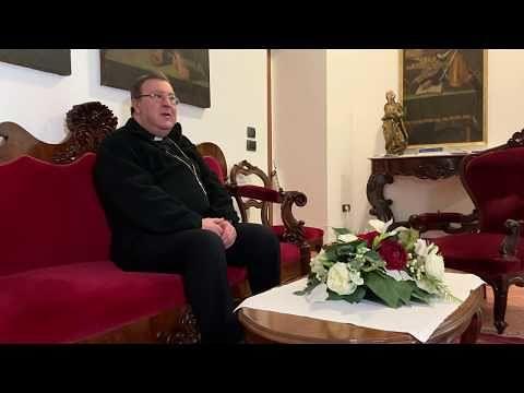 Coronavirus, salta la visita di Pasqua: videomessaggio del vescovo Leuzzi per la Piccola Opera Charitas