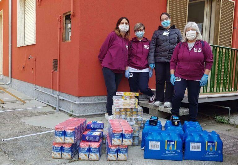 Coronavirus, altre donazioni di mascherine e generi alimentari a Giulianova