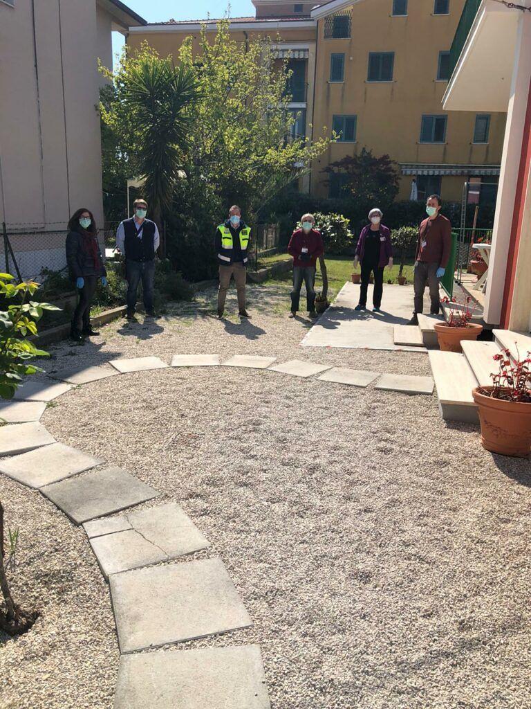 """Coronavirus, Costantini fa visita ai volontari del """"Dono di Maria"""" di Giulianova"""