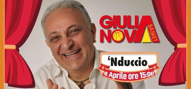 Coronavirus, 'Nduccio con il Giulianova Basket per iniziaitiva di solidarietà