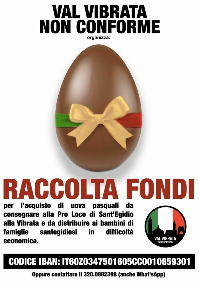 Sant'Egidio alla Vibrata, raccolta fondi per le uova di Pasqua: l'iniziativa