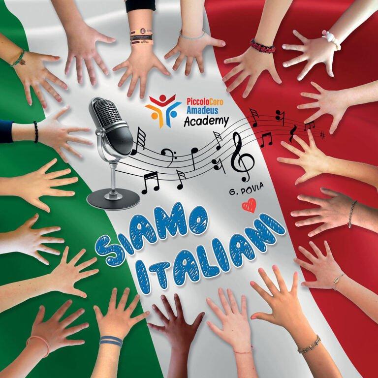 Siamo Italiani: l'idea originale del Piccolo Coro Amadeus. Il nuovo brano