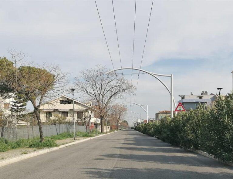 Pescara, approvato il tracciato della filovia