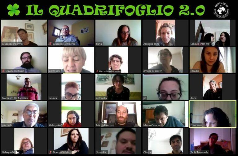 """Covid19 Pineto: Dimensione Volontario continua a dare supporto online con """"Il Quadrifoglio 2.0"""""""