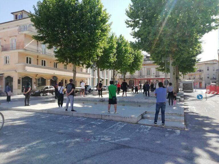 Sant'Egidio, le Mascherine Tricolori di nuovo in piazza