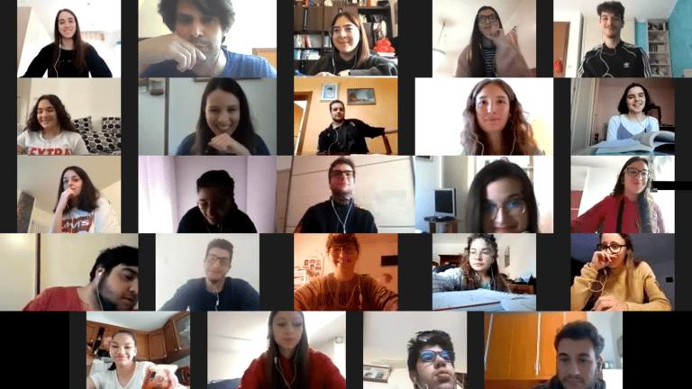 """Atri, Efesto2020: l'opera di lettura collettiva degli studenti del Liceo """"Illuminati"""""""