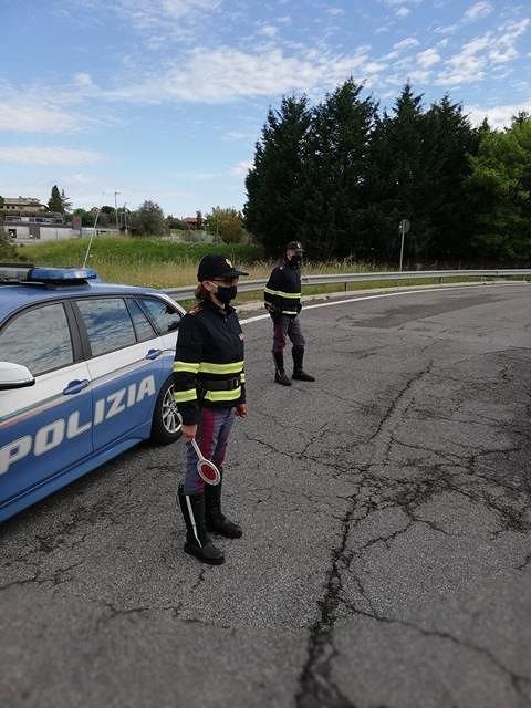 Covid19, controlli sulle strade a Giulianova: automobilista alla guida sotto effetto di stupefacenti