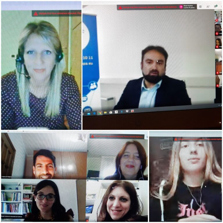 Teramo, l'asse di collegamento con l'Europa al centro di un video incontro dell'IC Falcone e Borsellino