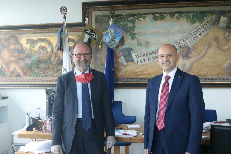 Università di Teramo: primo incontro tra Rettore e il nuovo Prefetto de Prisco FOTO