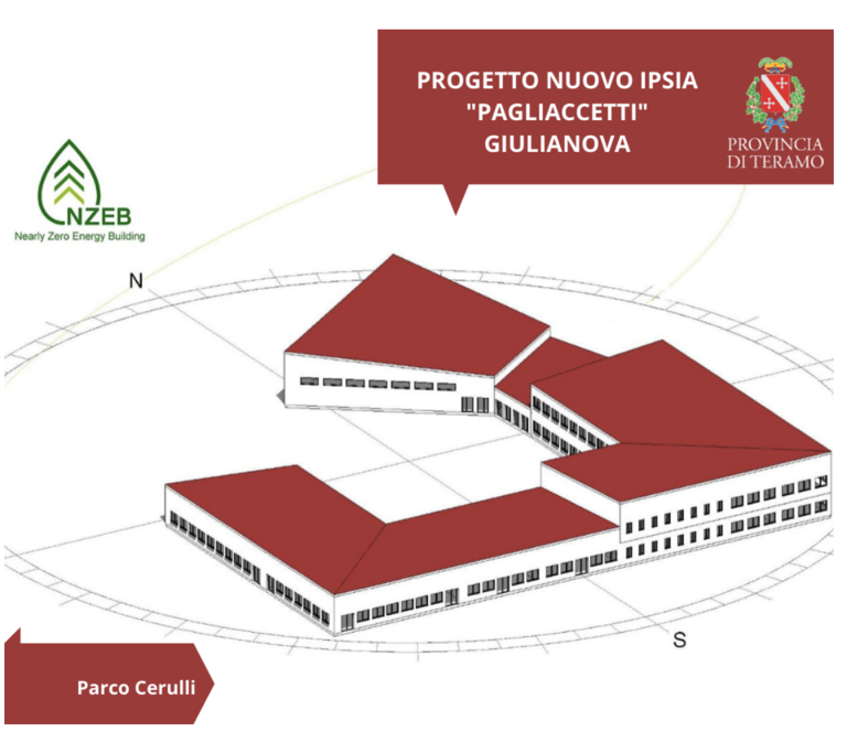 """Giulianova, approvato il progetto per l'Istituto """"Pagliaccetti"""""""