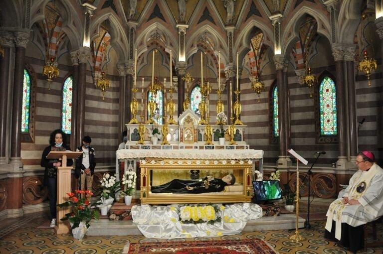 Santuario San Gabriele, Veglia mariana in streaming con diocesi internazionali FOTO