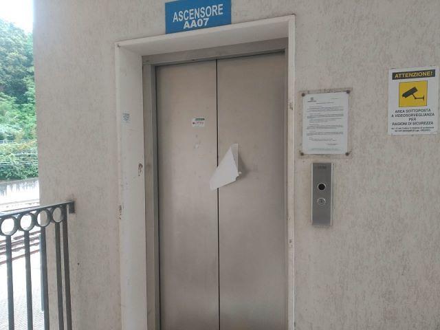 Ascensore stazione di Lanciano, Taglieri: 'Lavoratori e disabili costretti a usare le scale'
