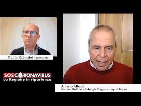 Covid19, fase due in Abruzzo. Albani: distanziamento sociale e tamponi per i lavoratori VIDEO