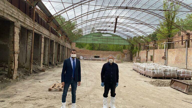 Campli, dopo 50 anni la bonifica della vecchia fornace a Sant'Onofrio FOTO
