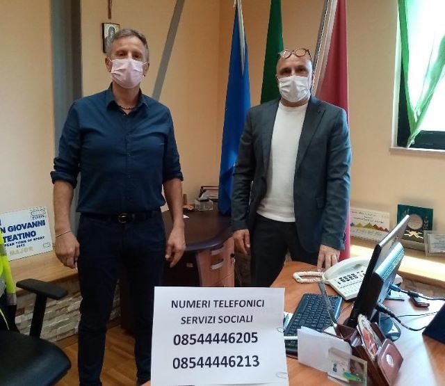 San Giovanni Teatino, emergenza Covid-19: nuove risorse di bilancio da destinare ai Servizi Sociali