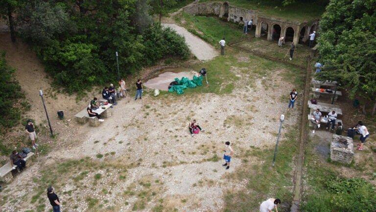 Roseto, ripuliti i percorsi da Roseto a Montepagano e la Fontana D'Accolle FOTO