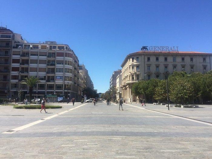 Fase 2: traffico regolare a Pescara, in pochi su lungomare