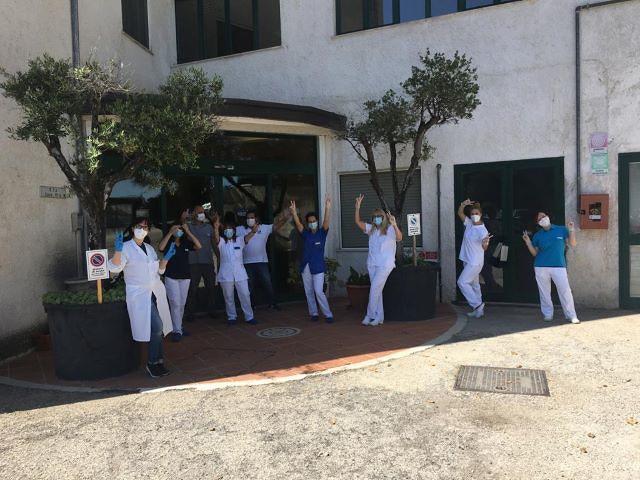 Rsa Santa Rita affronta l'emergenza Coronavirus: arrivati i risultati dei tamponi, tutti negativi